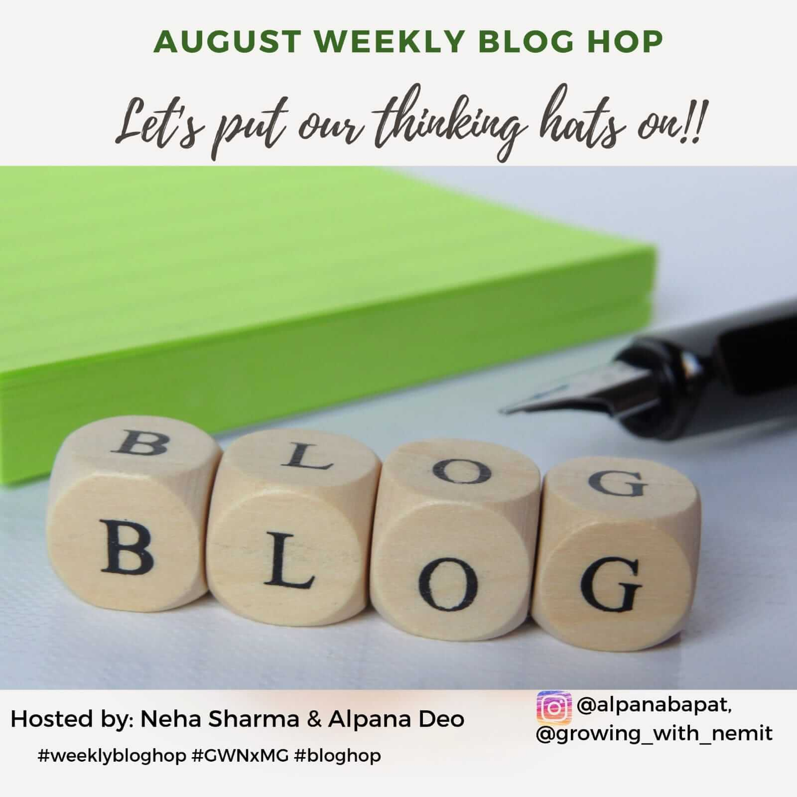 #WeeklyBlogHop #BlogHop