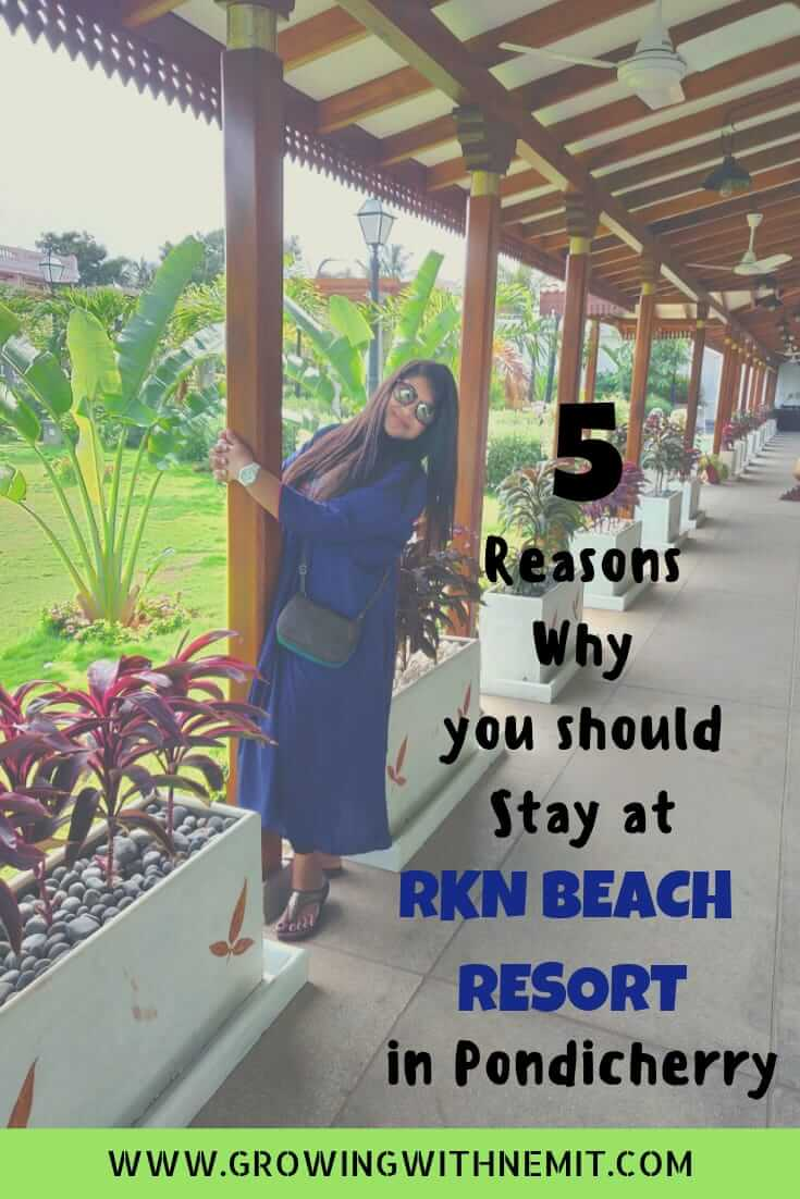 Why you should stay at RKN beach resort in Pondicherry #travel #pondicherry #rknbeachresort #beachresort #resortsinindia #hotelreview