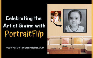 art of giving with portraitflip