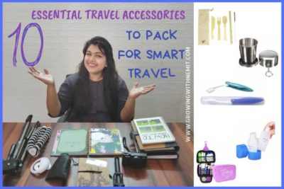 10 Essential Travel Accessories to pack for Smart Travel