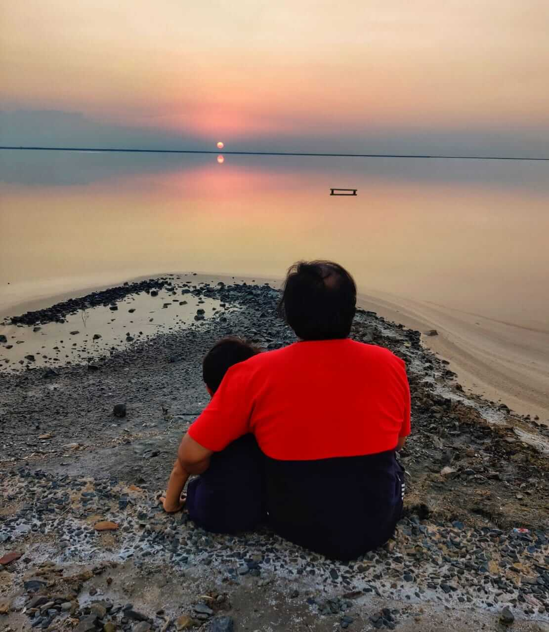 Sunset at Rann of Kutch, Gujarat