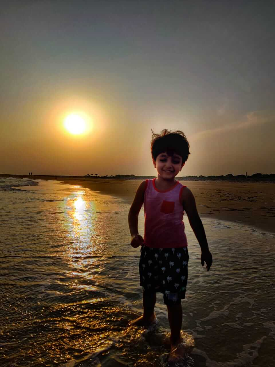 Sunset at Mandavi Beach, Kutch