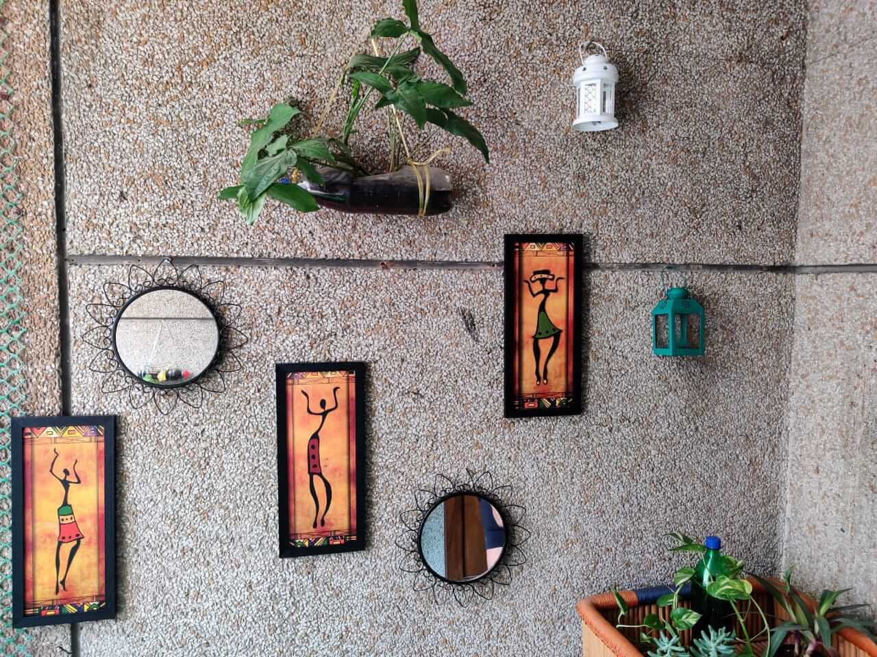 Balcony Garden - Wall decor
