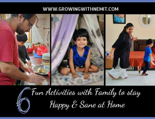 Staying active while staying at home with these Fun Activities with Family