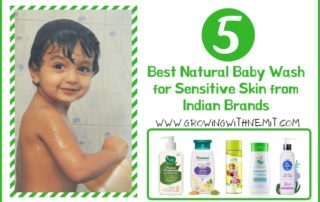 Recently, a new mother asked me to suggest the best brands for a baby wash for sensitive skin. Here are the 5 best Indian brands that you should check out..