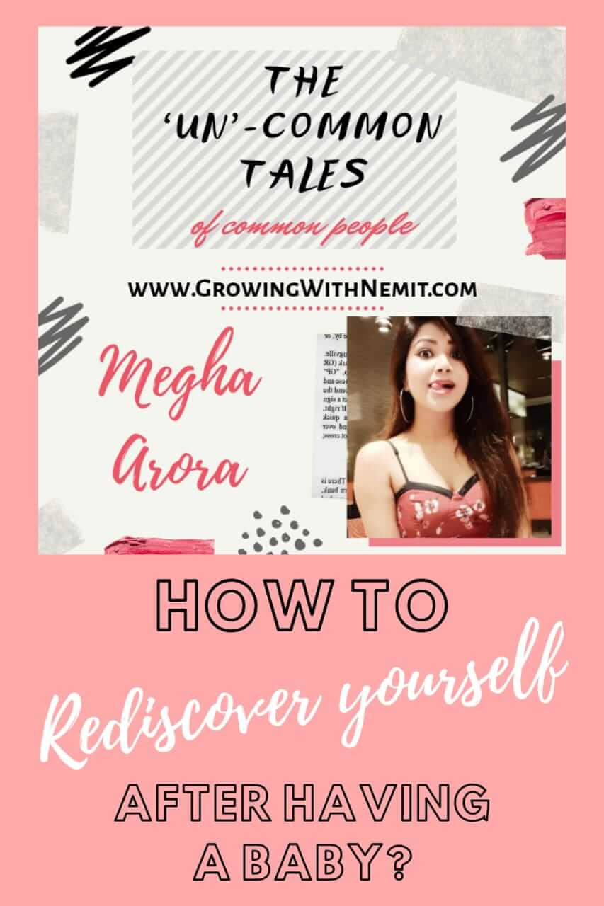 Megha has shared her secret of being a happy mother. Her tips to rediscover yourself after having a baby' will help a lot of new mothers out there.