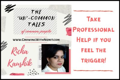 The first post of the series is by Richa Kaushik. She has shared her experience of fighting anxiety during the lockdown. Take professional help, she says...