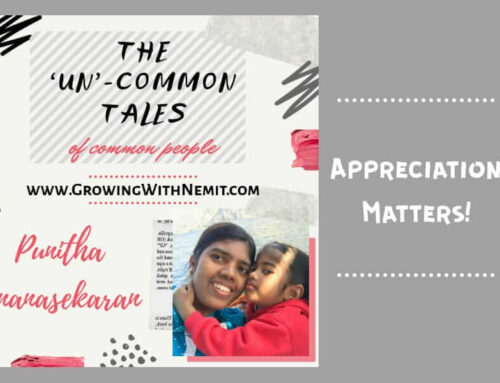 Appreciation Matters! – 'The 'Un'-common Tales' Blog Series