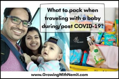 Why to Pack Baby Liquid Cleanser when Traveling with a Baby?