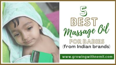 When I became a mother, the first thing I did was research for all the best baby products. Here are the 5 Best Massage Oil for Babies from Indian Brands.
