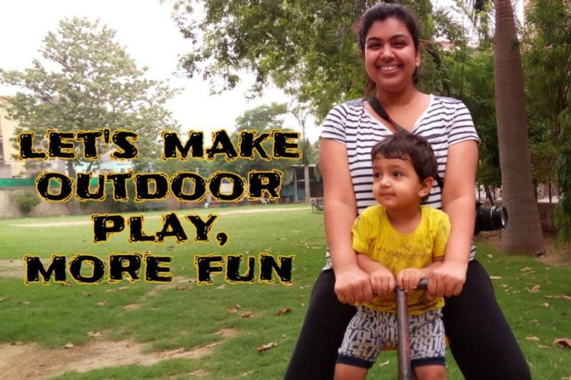 Lets make outdoor play more fun