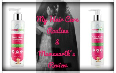 Mamaearth review and hair care