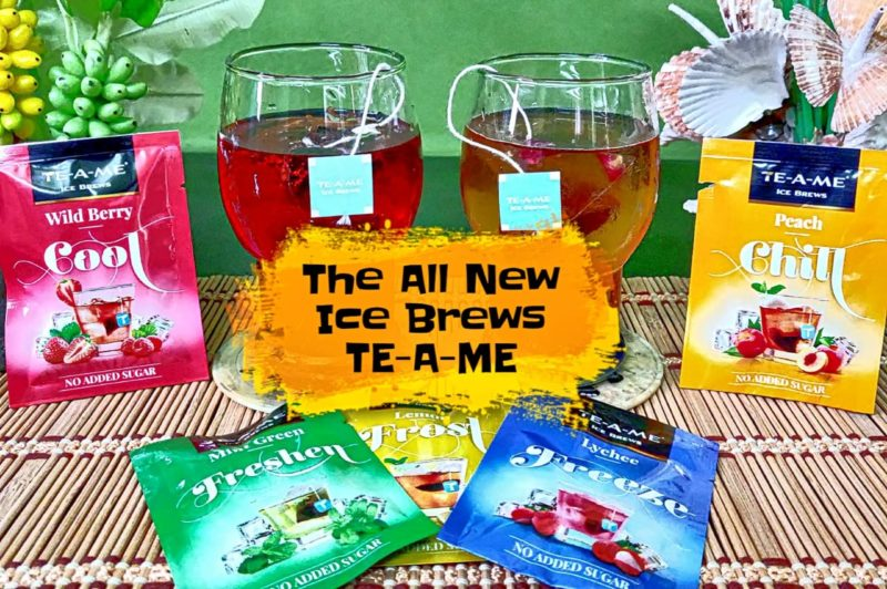 Ice brews from TEA-A-ME