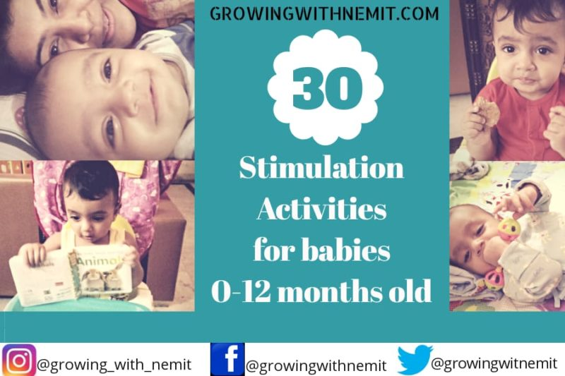 30 Stimulation Activities for an infant's cognitive development
