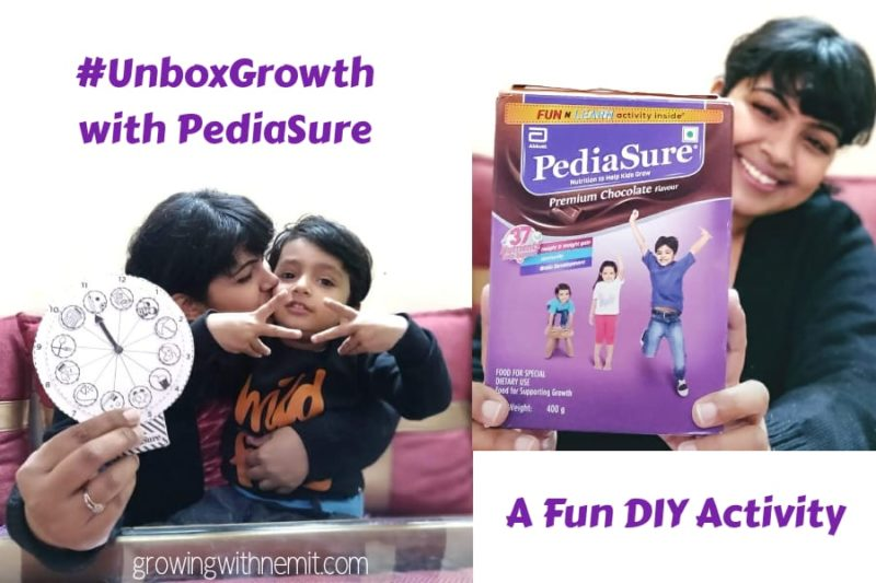 A Fun DIY Activity with PediaSure - Unboxing Growth & Learning