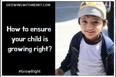 How to ensure that your child is growing right? #GrowRight #Pediasure
