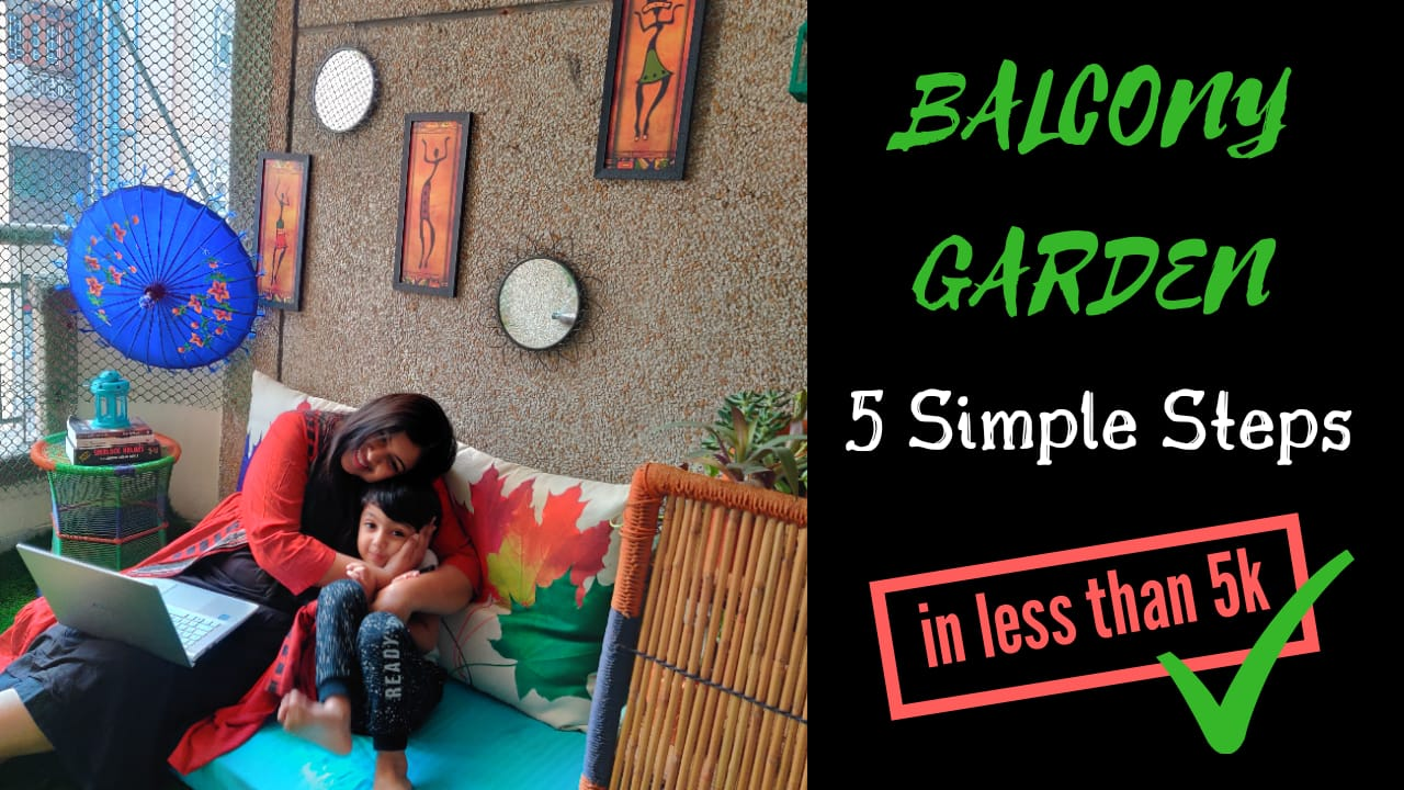 Balcony Garden-How to make a boring balcony into an interesting garden?