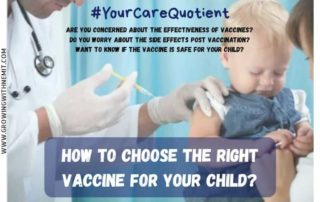 Are you concerned about the safety & effectiveness of the vaccine? Worried about the no of shots & side effects? Consider 3 things while choosing a vaccine.