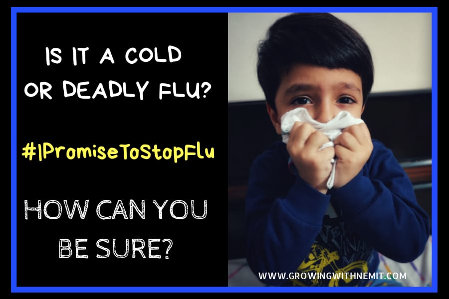 Is it a Cold or Deadly Flu? How can you be sure? #IPromiseToStopFlu