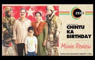 Every weekend, we plan a movie night and this Saturday we watched Chintu Ka Birthday which is a light Indian family drama. Here's my review...