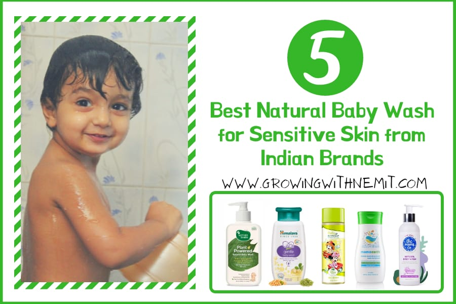 5 Best Natural Baby Wash for Sensitive Skin from Indian Brands in 2020