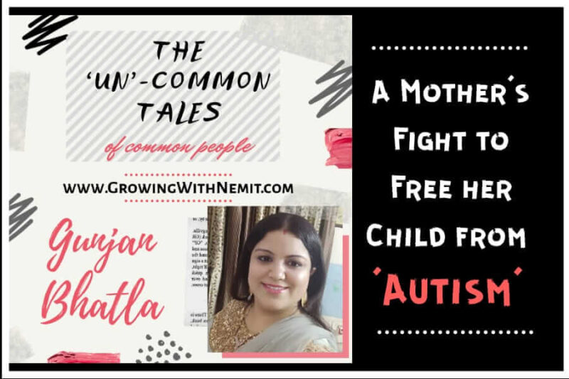 Gunjan has shared her experience of how she overcame the obstacles to free her son from Autism. She says that just screen time is not the reason for Autism.