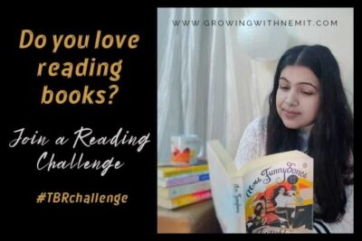 I am taking up a reading challenge with Blogchatter this year #TBRchallenge. If you too love reading books then you should definitely check it out!