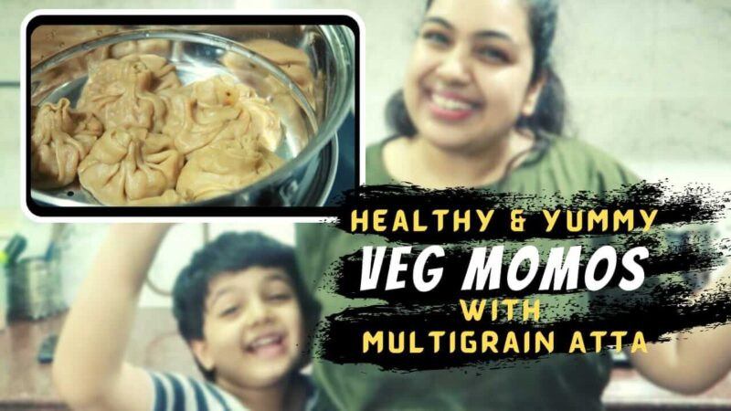 In this post, I'll tell you how you can make Veg Momos with Multigrain Atta (flour) & give this recipe a healthy twist. It can be a perfect snack for kids.