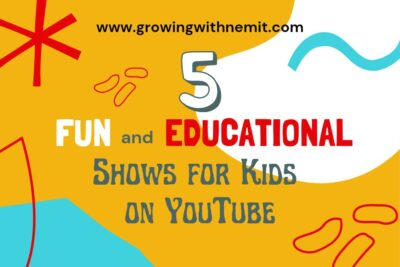 Here's a list of 5 fun and educational shows for kids 3 to 6-years old. These are the top five choices of my son when it comes to edutainment videos.